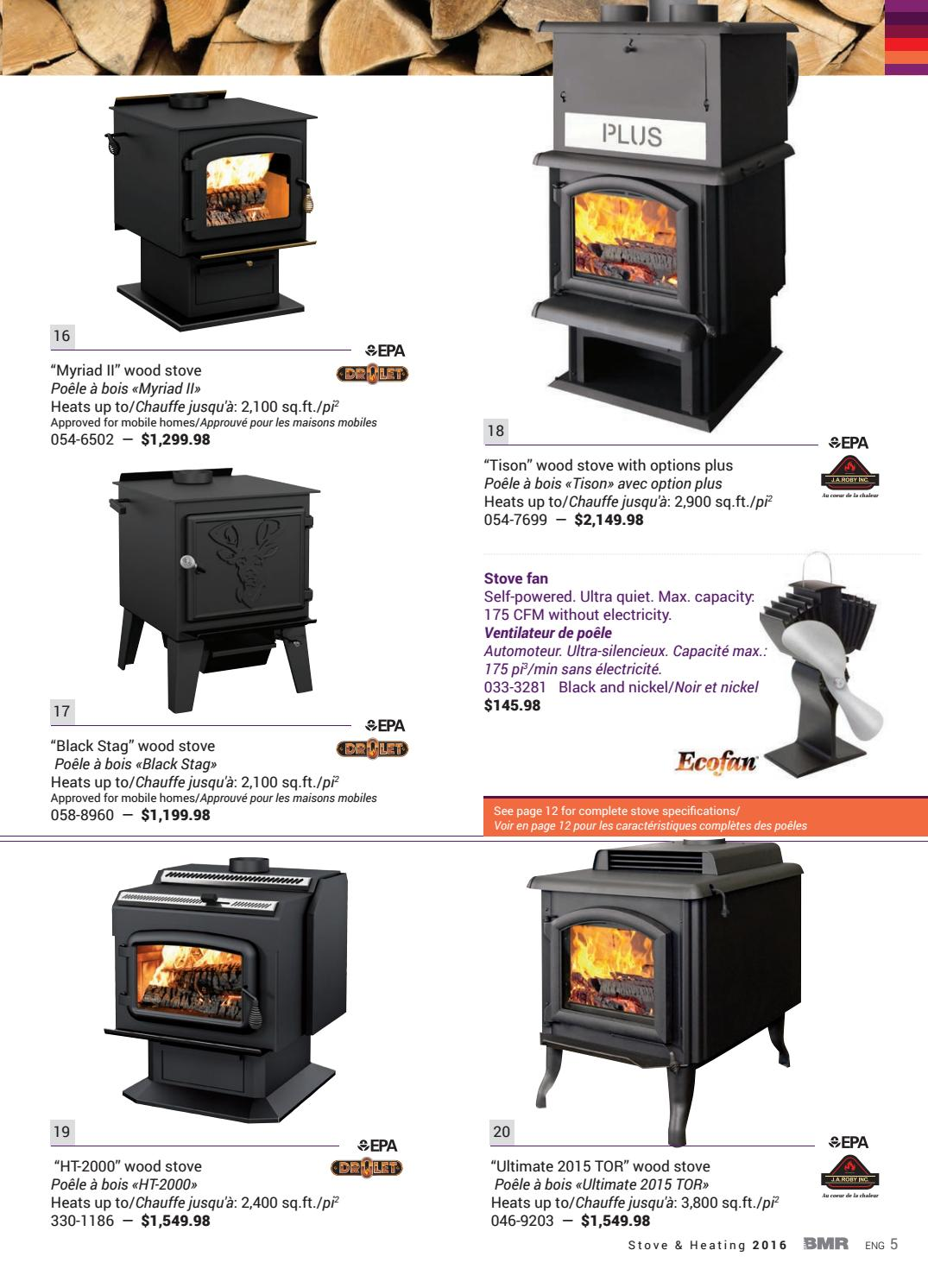 BMR | Stove & Heating by Groupe BMR - issuu