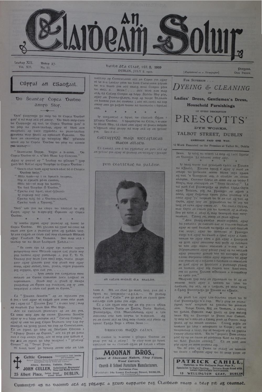 An Claidheamh Soluis Iil Nollaig 1910 by