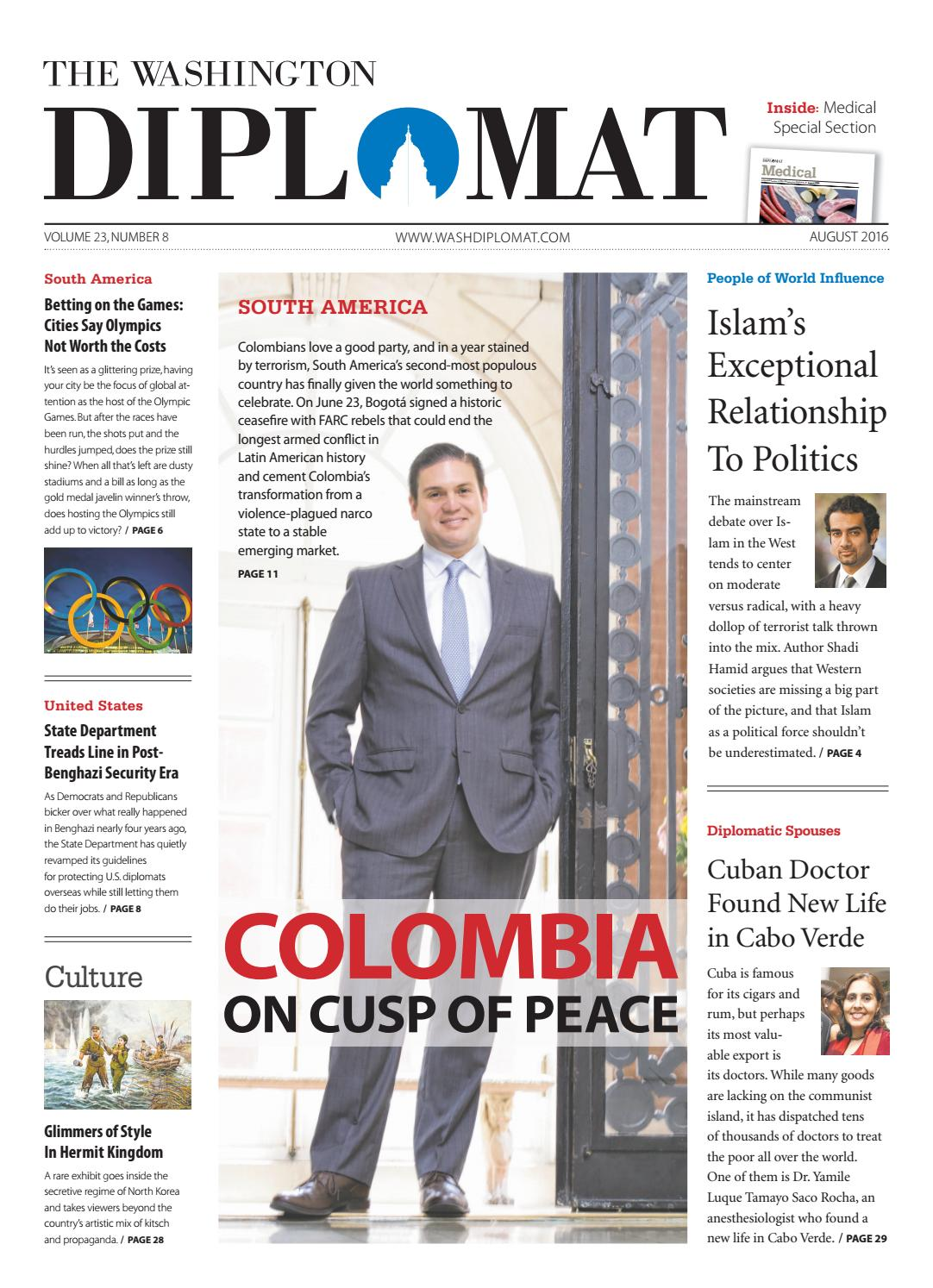 d18afe655970 August 2016 by The Washington Diplomat - issuu