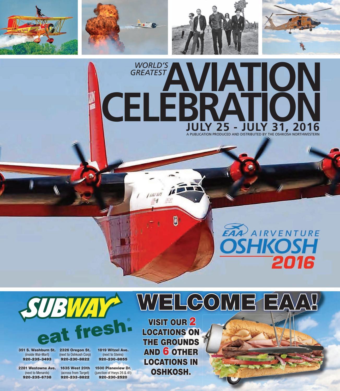 EAA 2016  A publication produced by the Oshkosh Northwestern