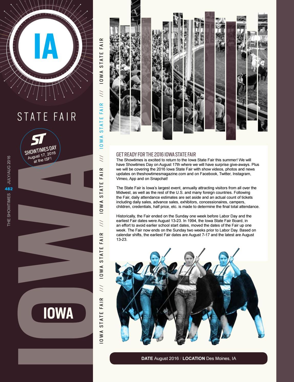 July/August 2016 State Fair Edition by Brian Reid - issuu