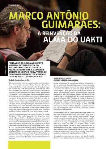 Page 12 of MARCO ANT\u00D4NIO GUIMAR\u00C3ES: A REINVEN\u00C7\u00C3O DA ALMA DO UAKTI