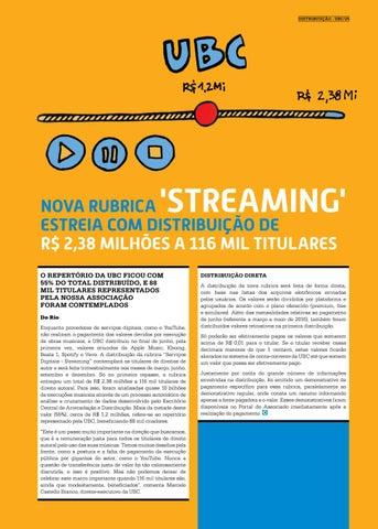 Page 25 of NOVA RUBRICA 'STREAMING' ESTREIA COM DISTRIBUI\u00C7\u00C3O DE R$ 2,38 MILH\u00D5ES A 116 MIL TITULARES