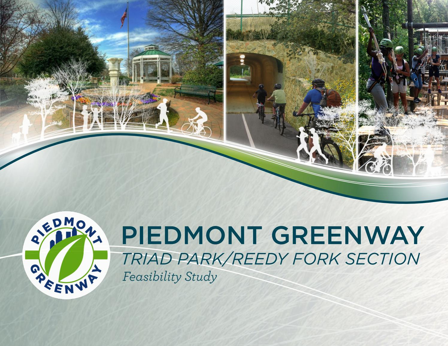 Piedmont Greenway Segment 8 Feasibility Study Kernersville Nc By