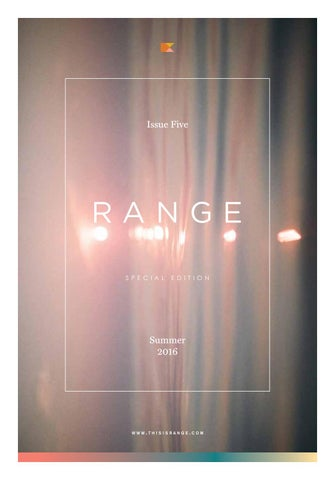 a193409f3f8 RANGE Magazine by RANGE - issuu