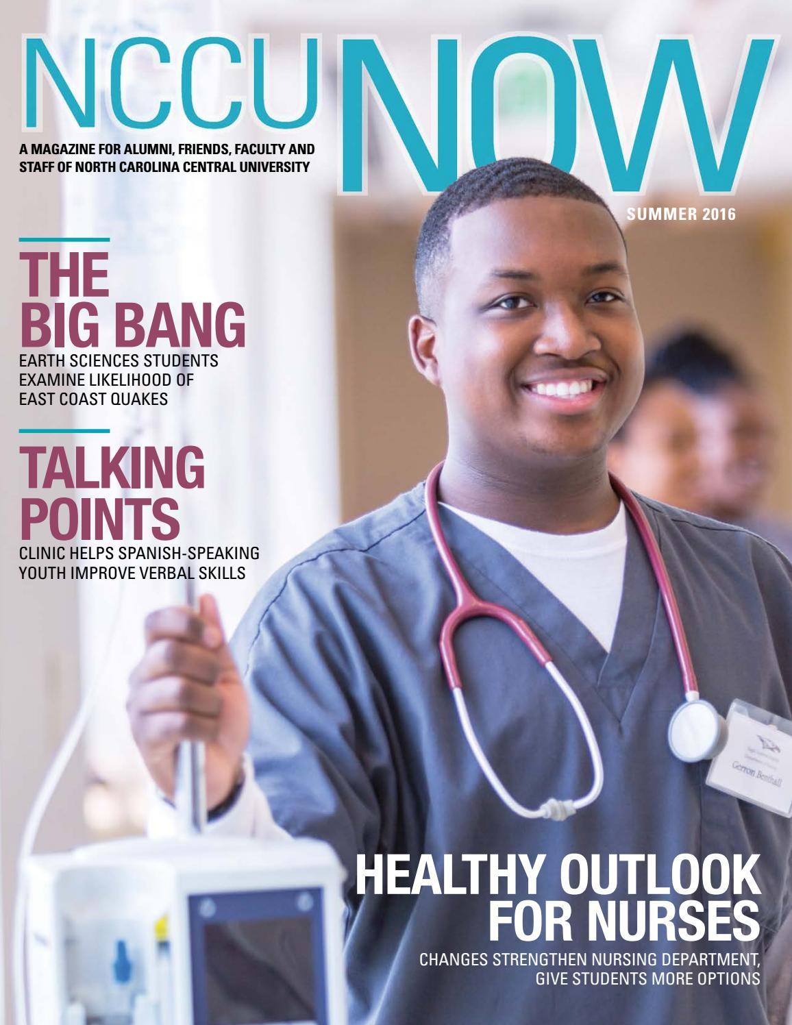 NCCU Now - Summer 2016