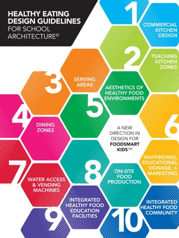 Healthy Eating Design Guidelines For School Architecture By Vmdo Architects Issuu