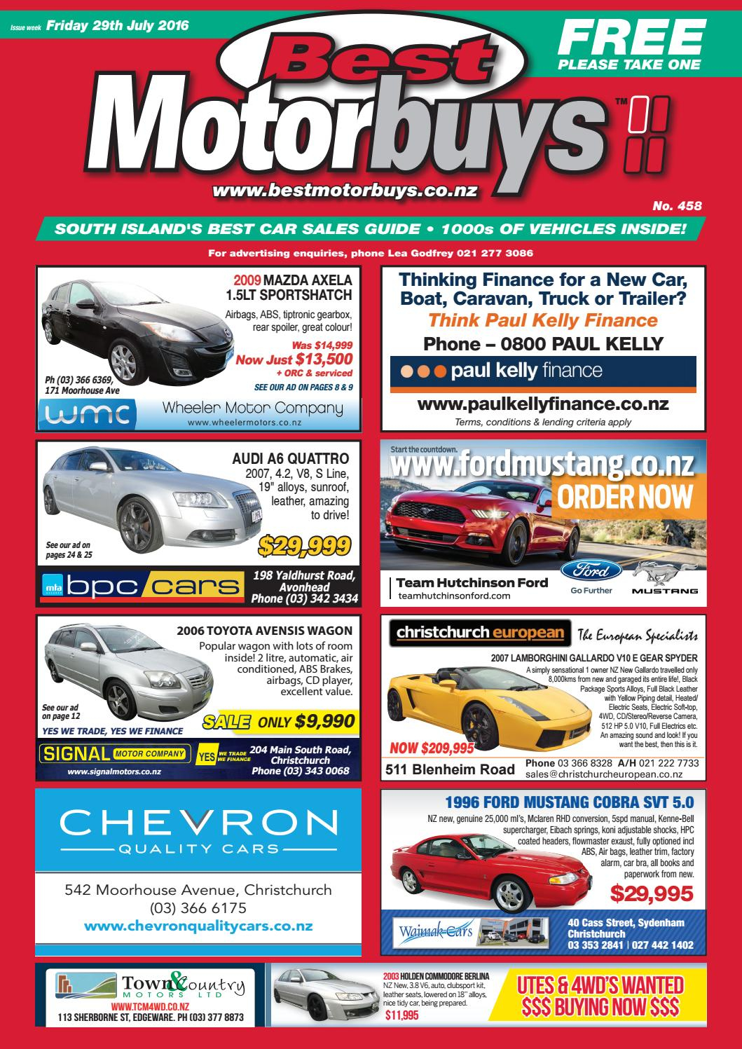Best Motorbuys 29-07-16 by Local Newspapers - issuu