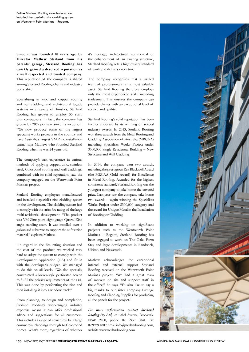 Australian National Construction Review