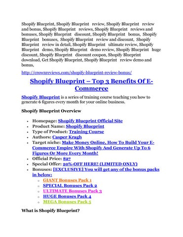 Shopify blueprint review giant bonus packs by midamonu issuu shopify blueprint shopify blueprint review shopify blueprint review and bonus shopify blueprint reviews shopify blueprint reviews and bonuses malvernweather Image collections