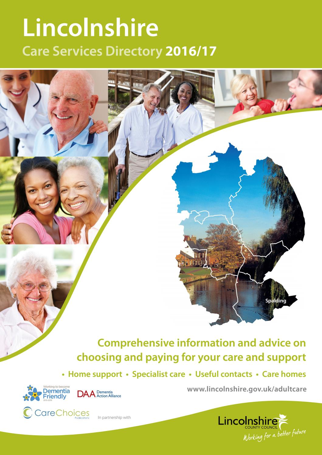 Lincolnshire Care Services Directory 2016 17 By Choices Ltd