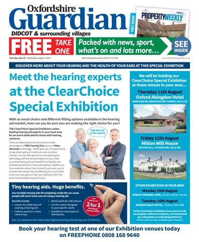 28 july 2016 oxfordshire guardian didcot by Taylor Newspapers - issuu c53e76473