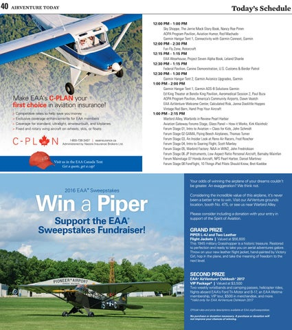 EAA AirVenture Today - Thursday, July 28, 2016 by EAA: Experimental