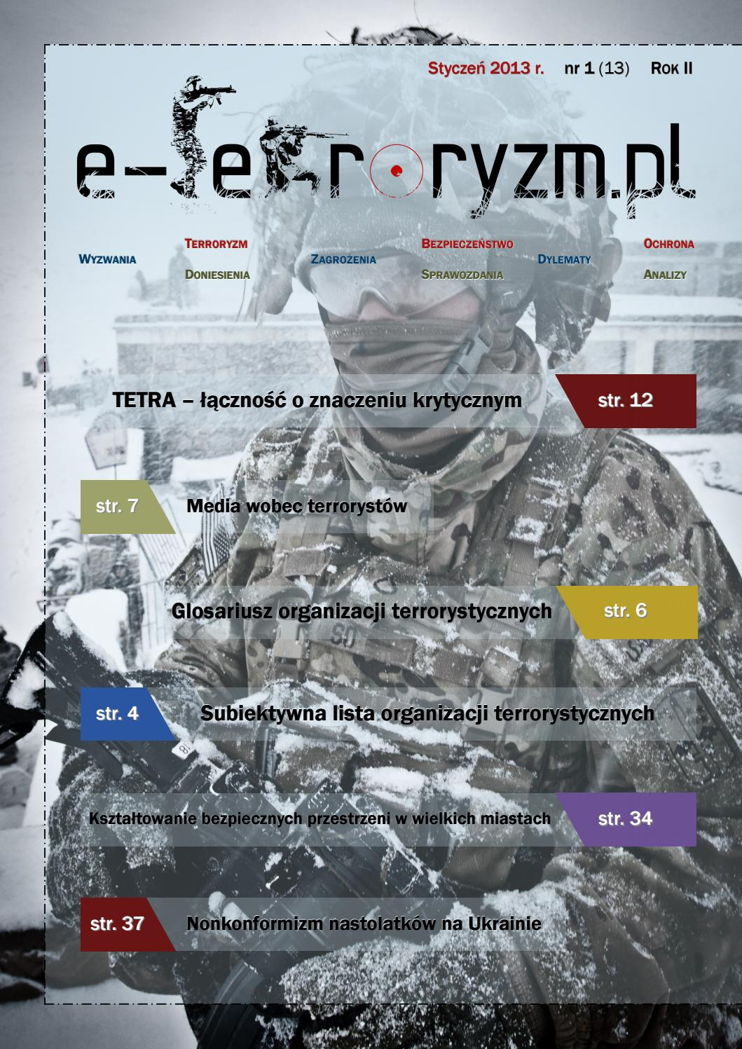 E Terroryzm 2013 01 By E Terroryzm Pl Issuu
