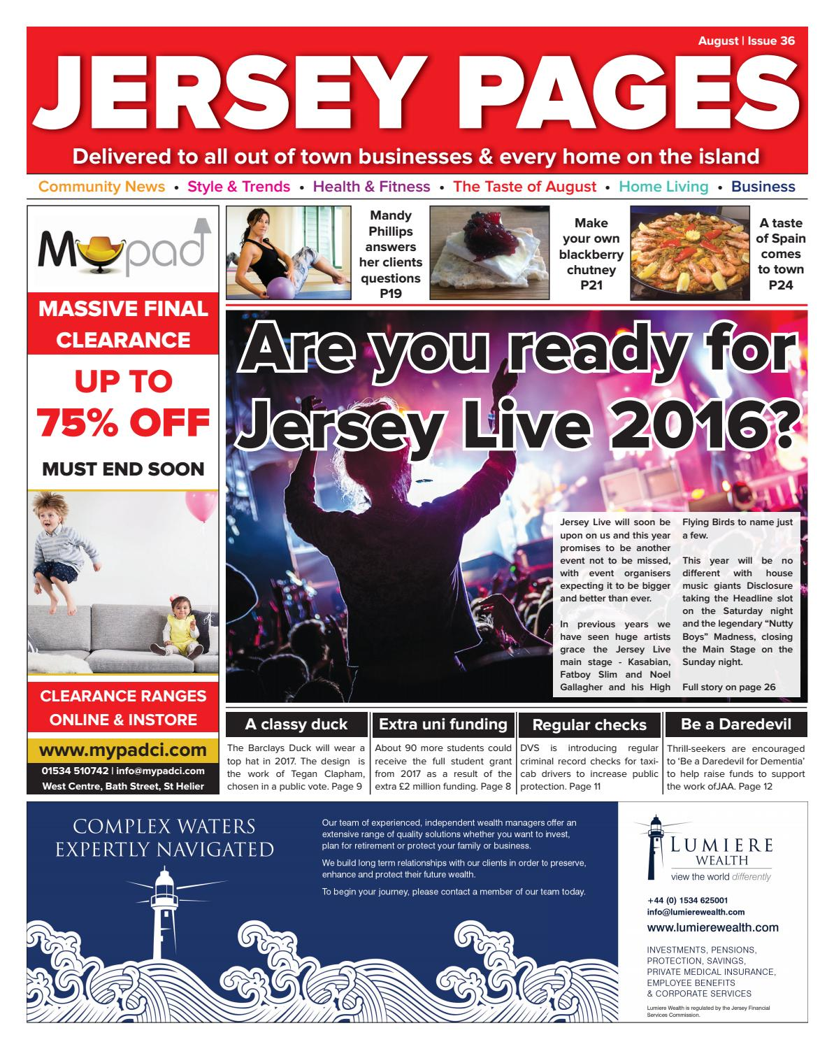 Jersey Pages | Issue 36 by W Media Ltd - issuu