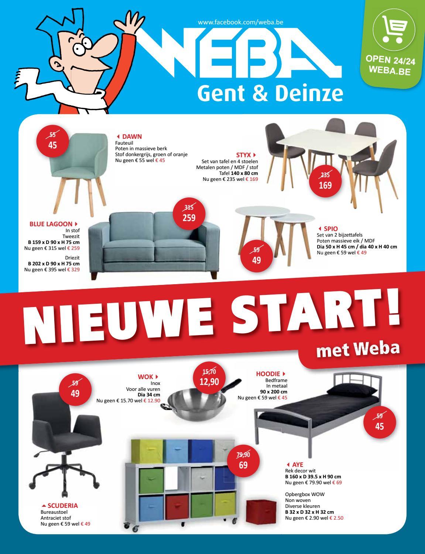 Wit Tv Meubel 90 Cm.Nieuwe Start By Weba Meubelen Issuu