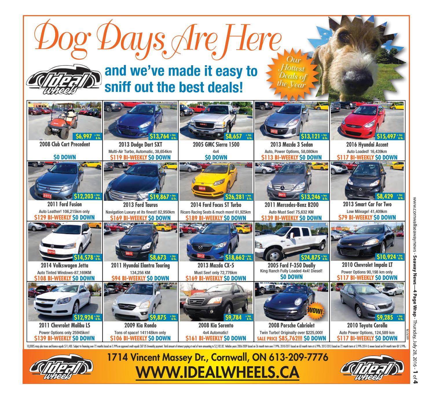 Cornwall Seaway News July 28, 2016 Edition by Cornwall Seaway News - issuu