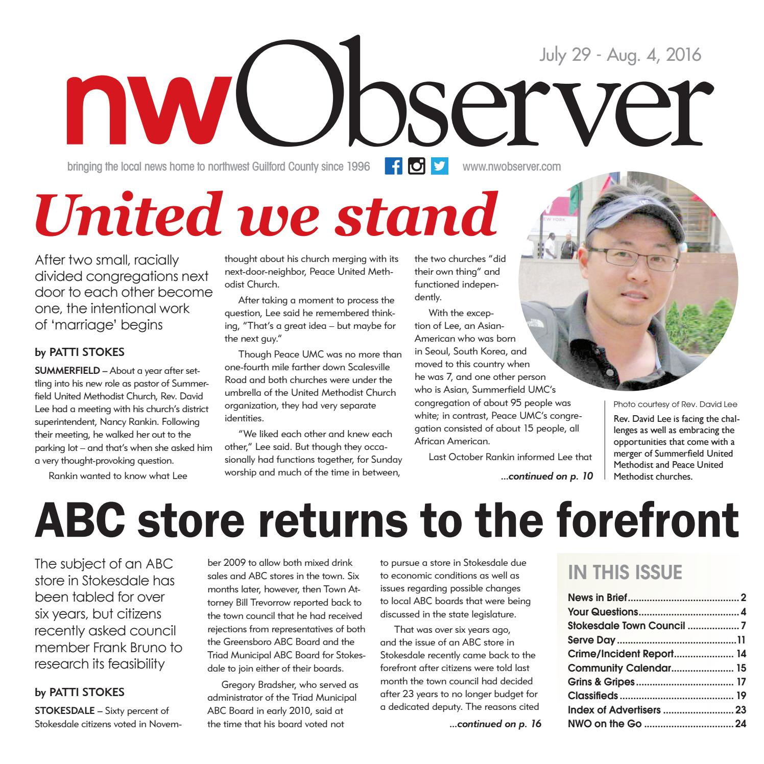Northwest Observer | July 29 - Aug  4, 2016 by pscommunications - issuu