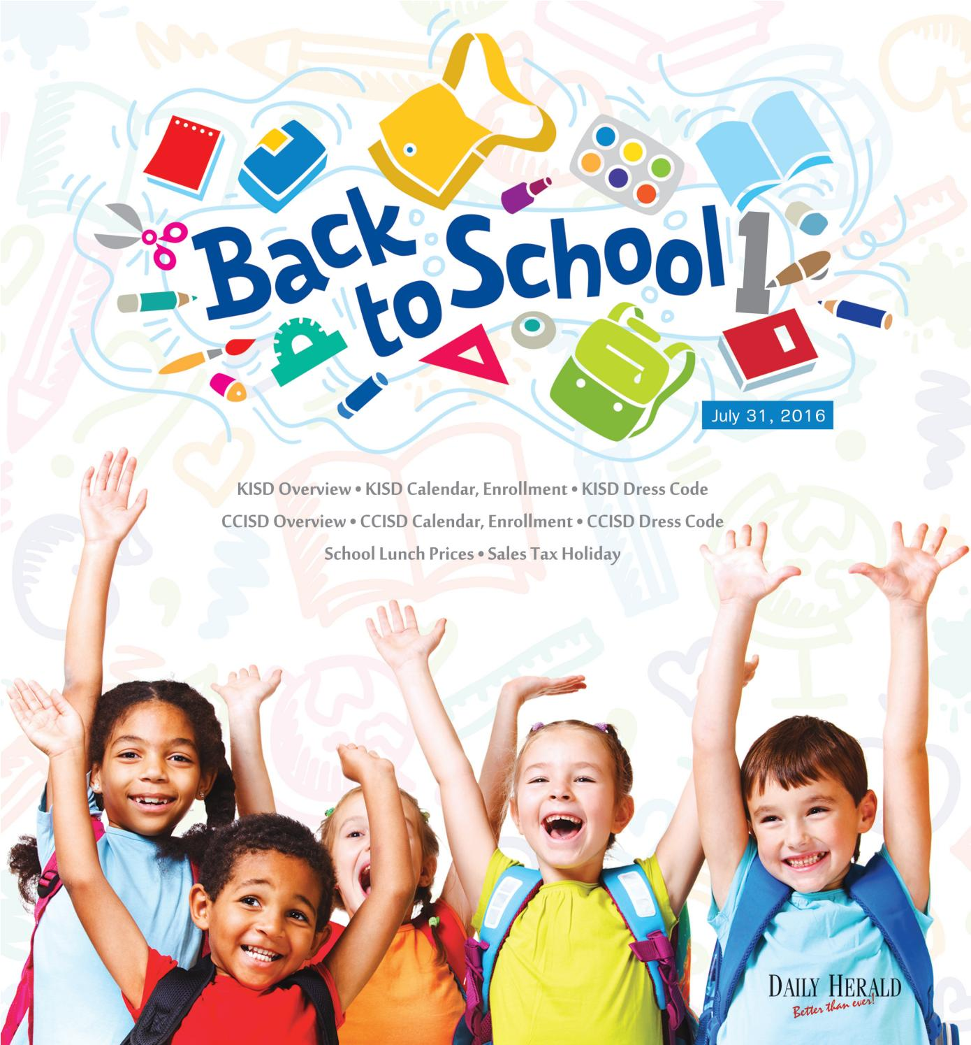 2016 Back To School 1 By Killeen Daily Herald Issuu