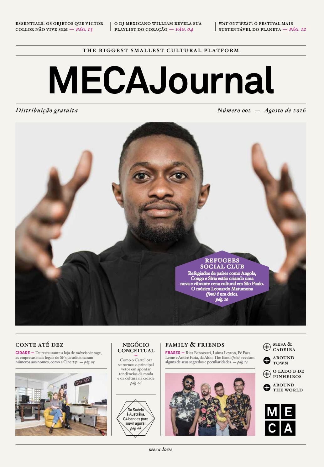 mecajournal 02 \u2013 agosto 16 by mecajournal issuu732 Nome Do Apresentador Do Video Show #2