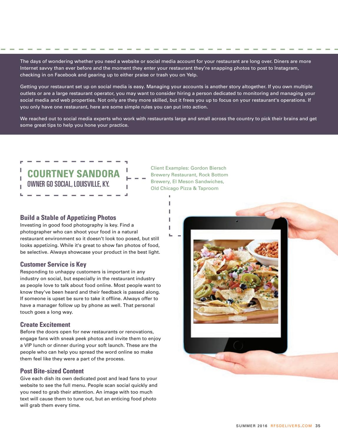Restaurant Inc    Summer 2016 by Reinhart_Publications - issuu