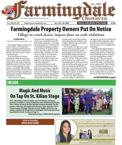 Farmingdale Observer by Anton Community Newspapers - issuu