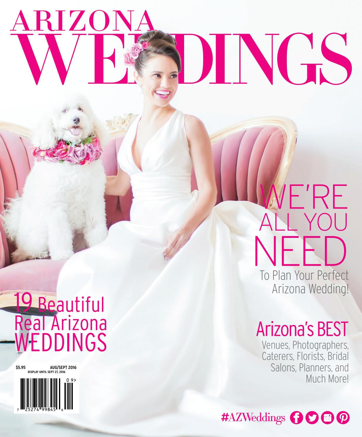 Wedding Magazines: Arizona Weddings Magazine