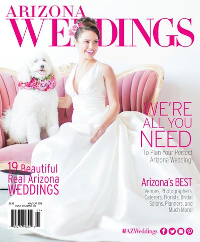 40b9c1e23d4 Arizona Weddings Magazine - Aug Sept 2016 by Arizona Weddings ...