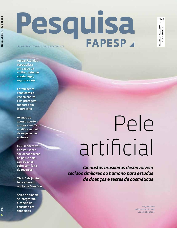 1e984a9aa Pele artificial by Pesquisa Fapesp - issuu