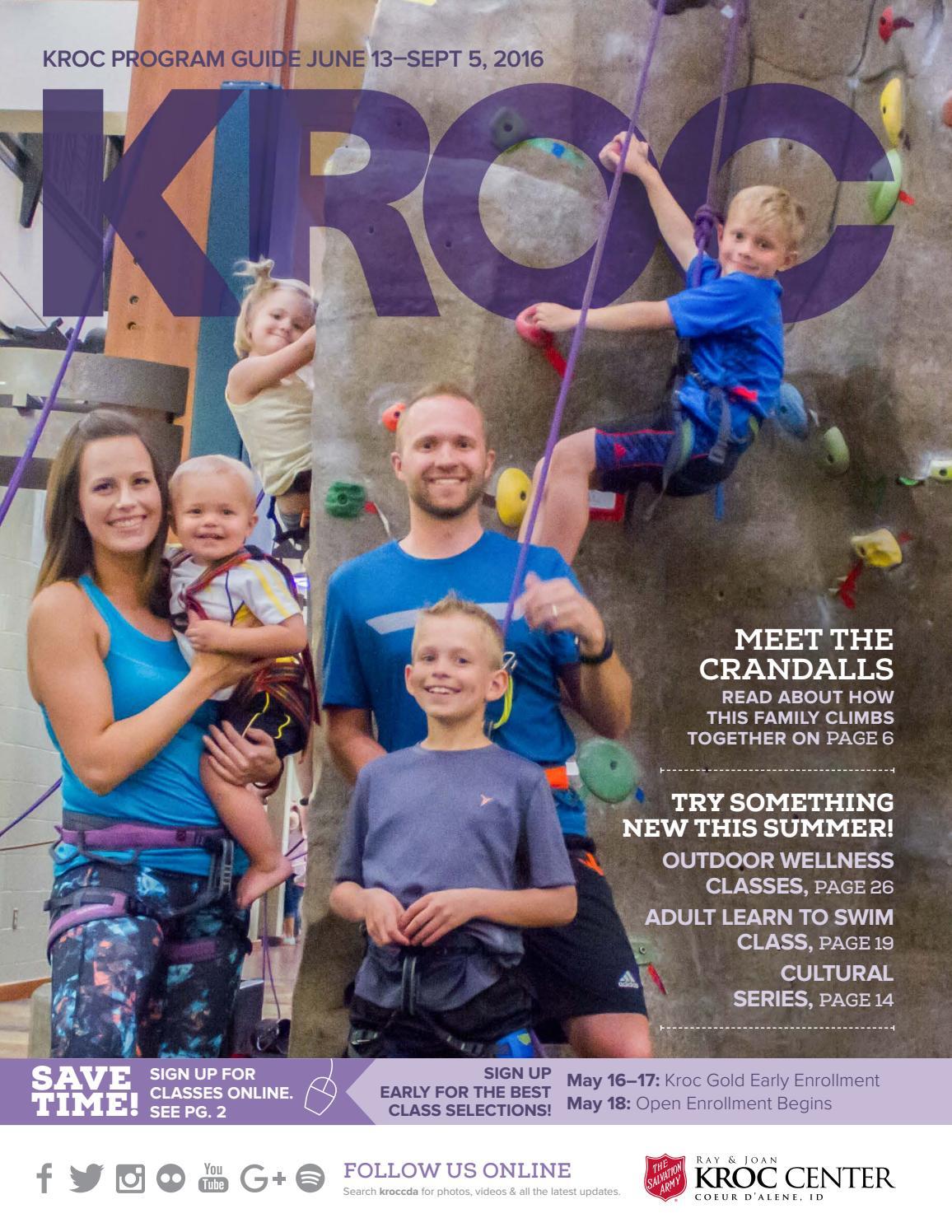 The Salvation Army Kroc Center 2016 Summer Program Guide By The Salvation Army Kroc Center Coeur