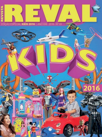 2b80c40be2 Revista Reval Kids 2016 - Parte 02 by Reval Atacado de Papelaria ...
