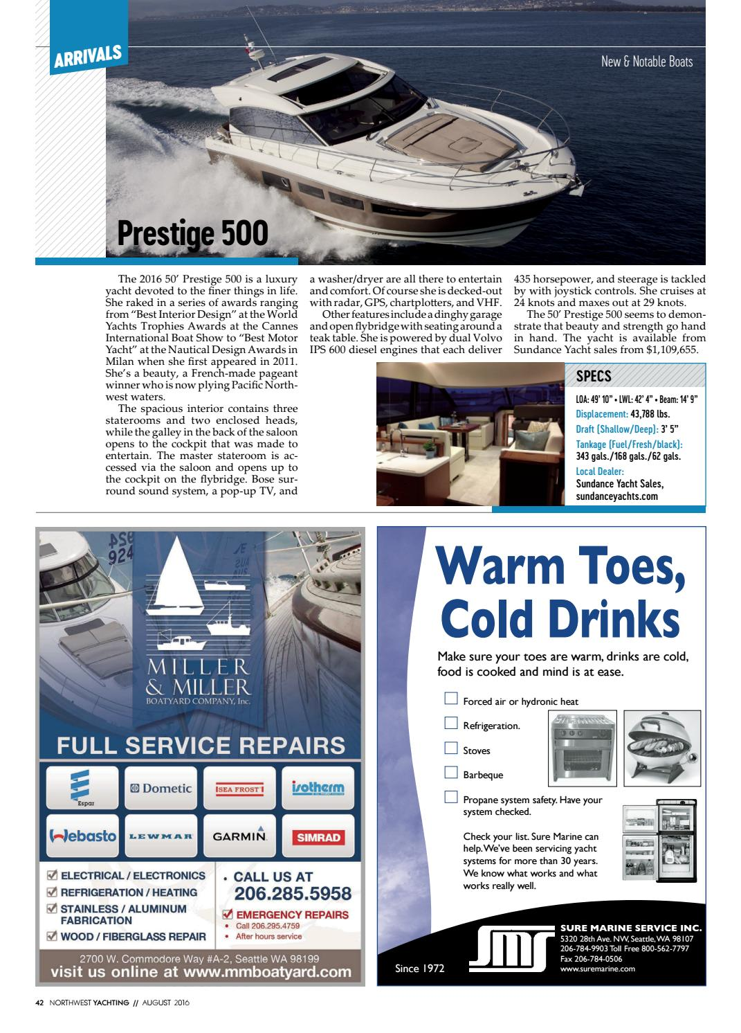 Northwest Yachting August 2016 by Northwest Yachting - issuu