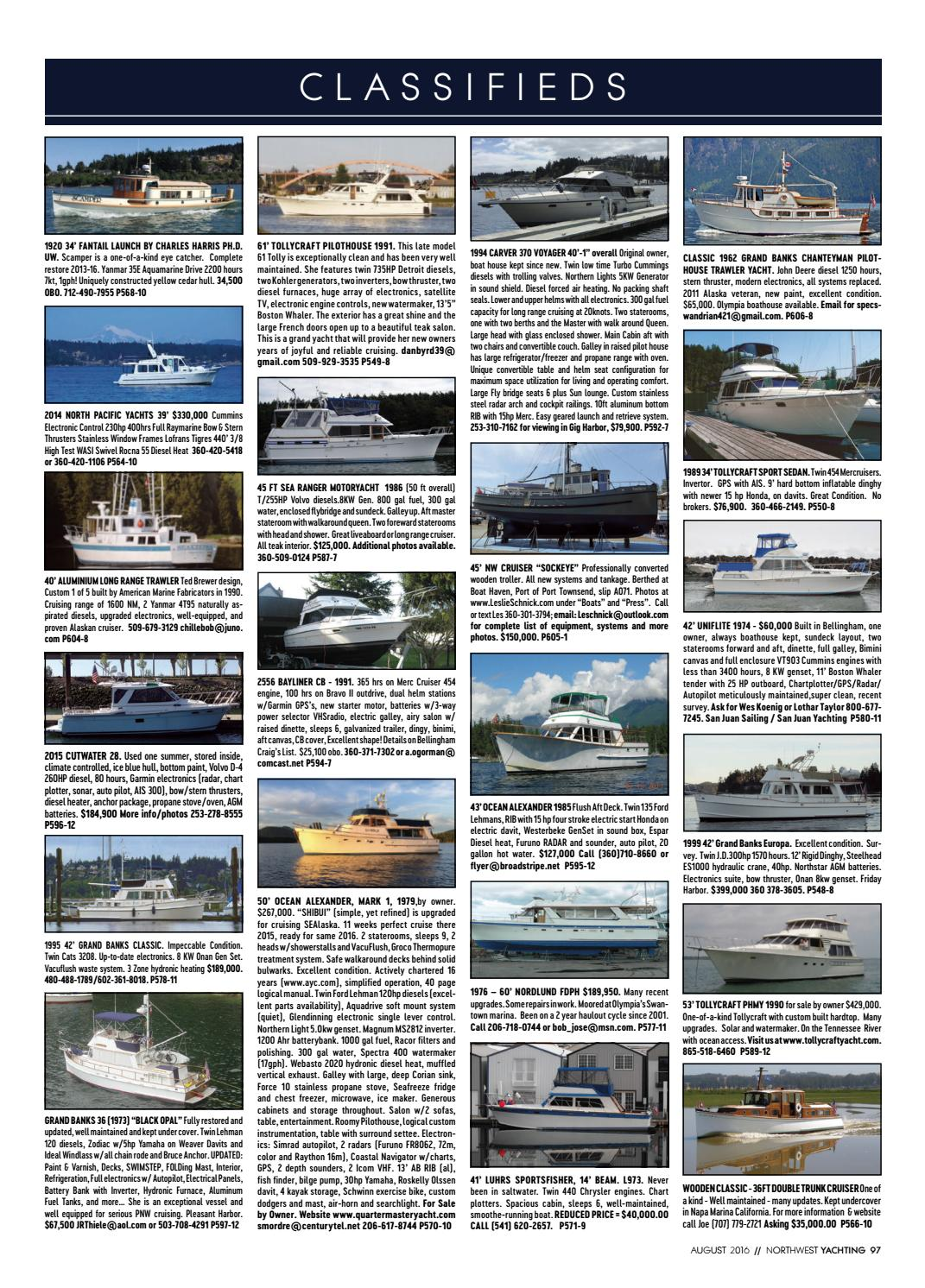 Northwest Yachting August 2016 by Northwest Yachting - issuu