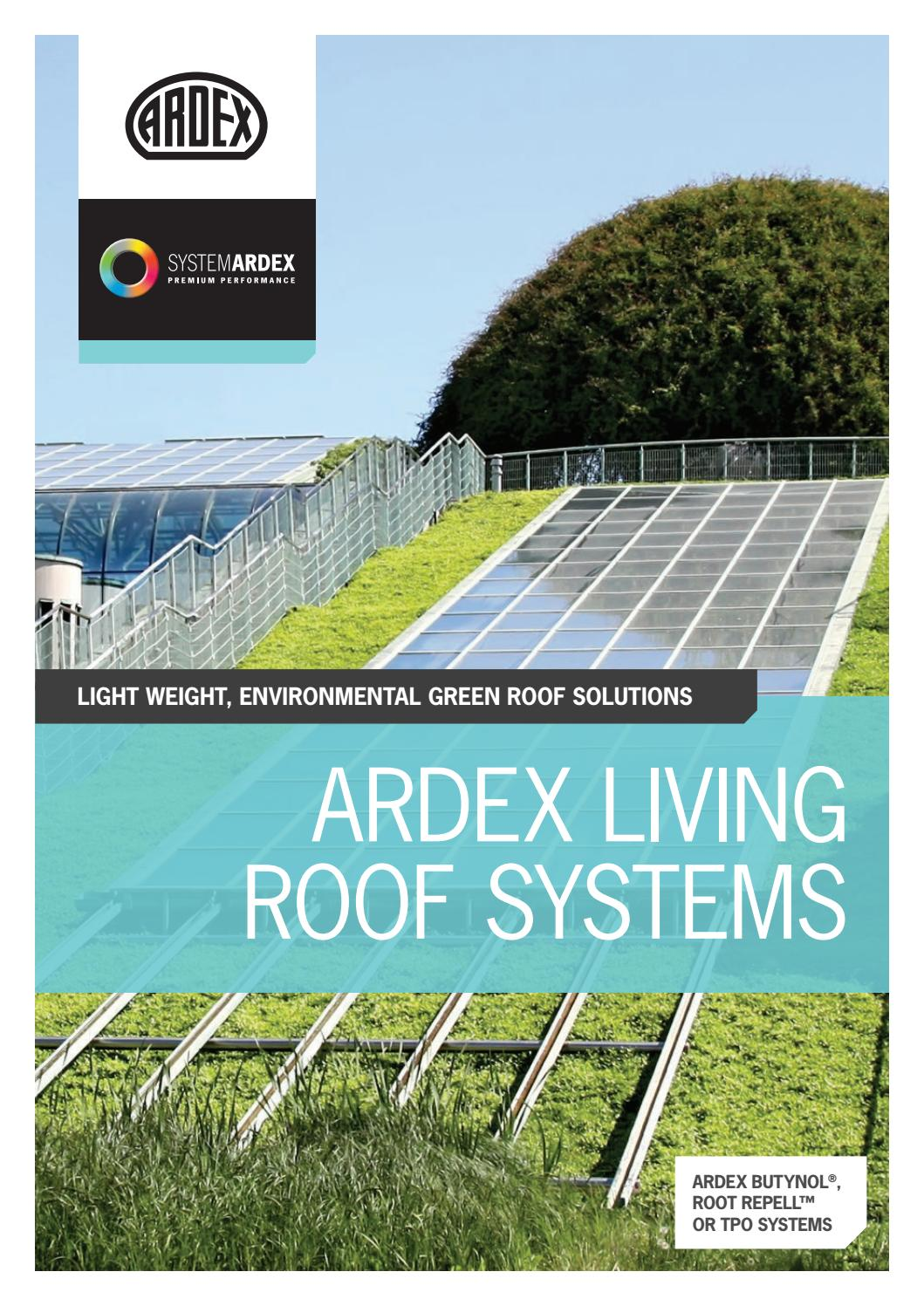ARDEX Green Roof Solutions By ARDEX Australia   Issuu