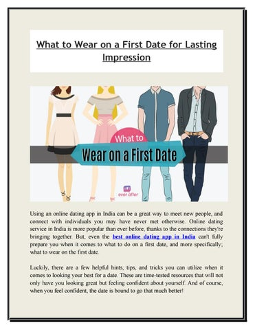 what to wear on first date india
