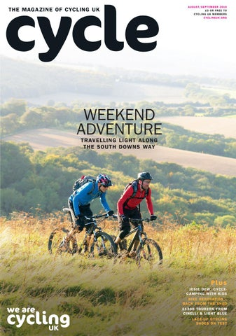 33ad2aafc9d Cycle Magazine Taster August / September 2016 by Cycling UK, the ...