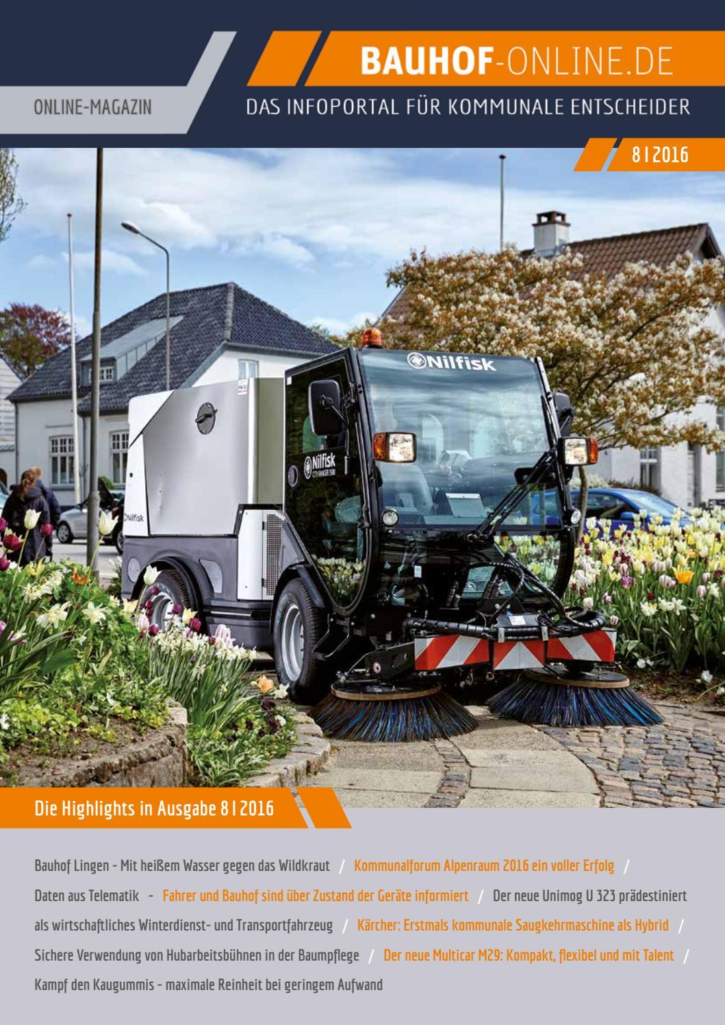 Bauhof-Online Magazin 08/2016 by KANAT Media Verlag - issuu