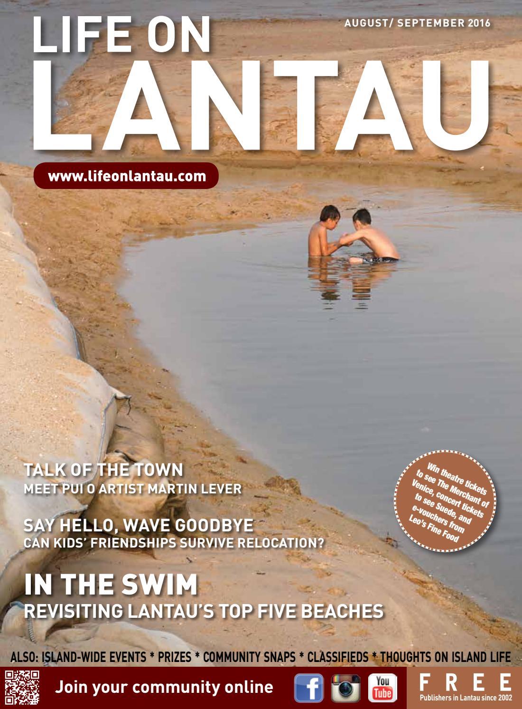 Life On Lantau August/ September 2016 By Life On Lantau Magazine   Issuu