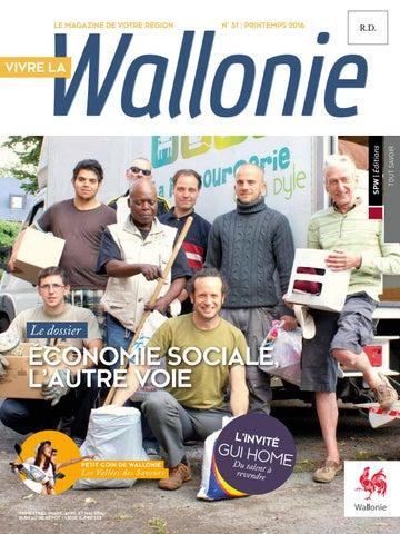Vivre la Wallonie n°31 - Printemps 2016 by Région Wallonne - issuu 7bed98089d6
