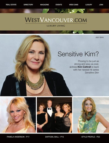 WestVancouver Magazine - Jul 2016 by Turner Media - West Vancouver