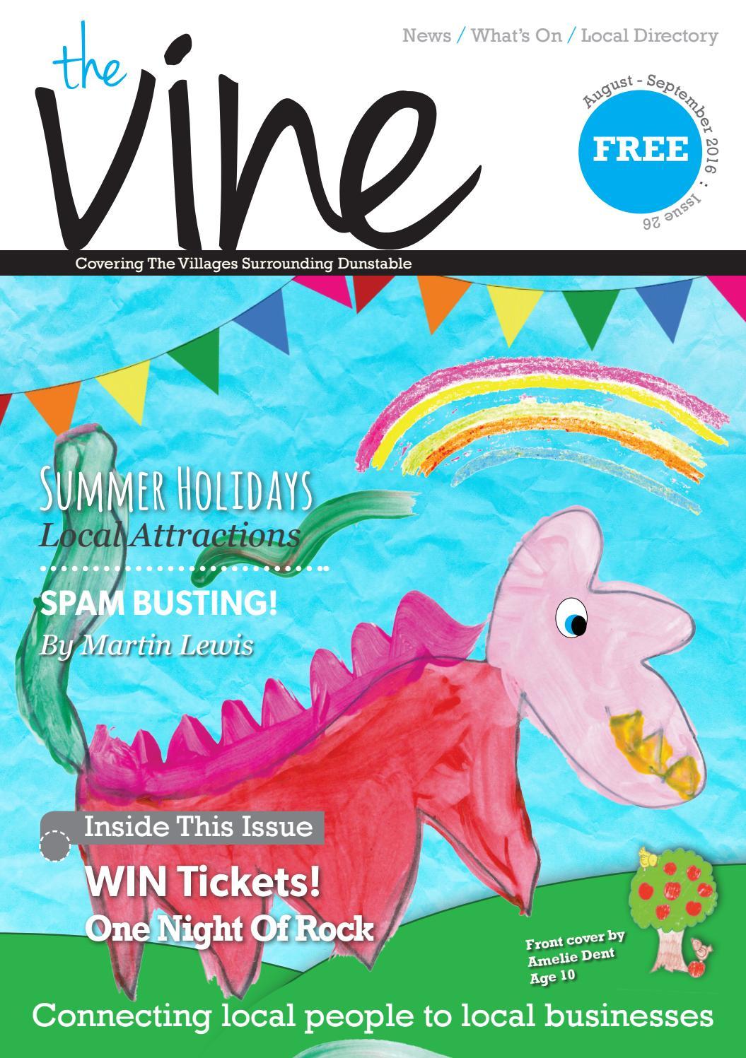 e5e5604e The Vine Villages - August / September 2016 - Issue 26 by The Vine ...
