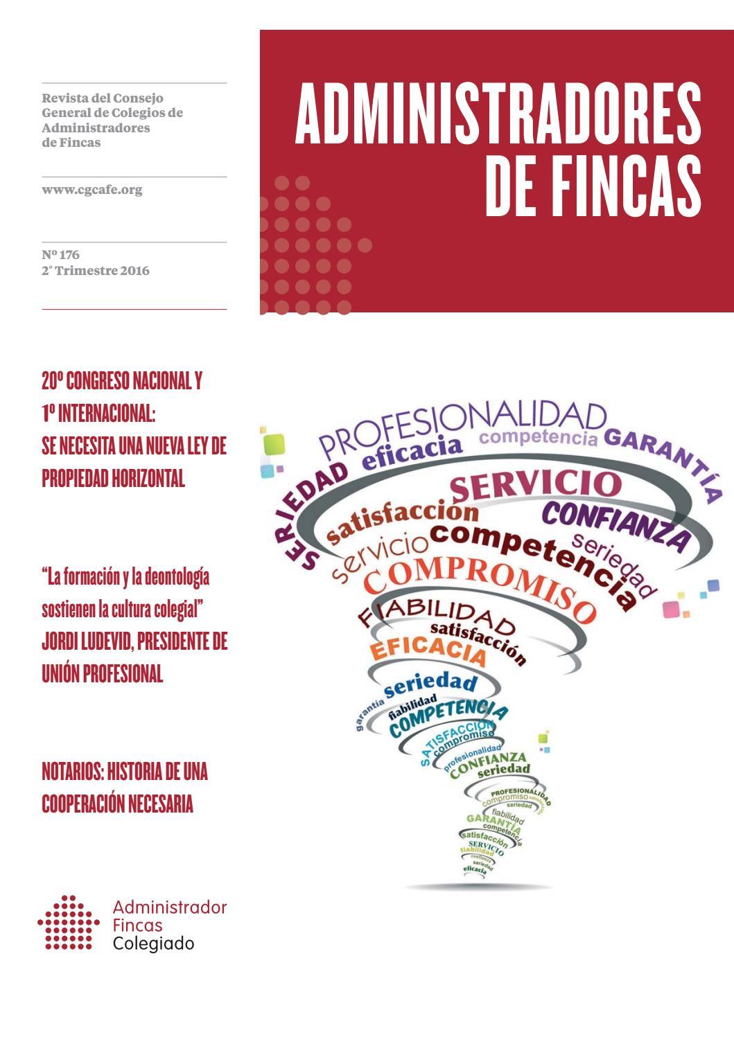 Administradores de fincas n 176 by administradores de for Administradores de fincas en leon