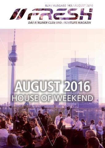 Freshguide BLN 163 AUGUST 2016 By Freshguide   Issuu