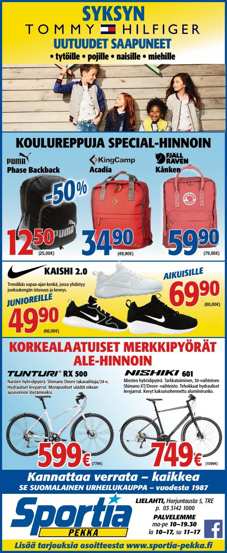 Sportia pekka 3007 3 by Sportia-Pekka Sportia-Pekka - Issuu