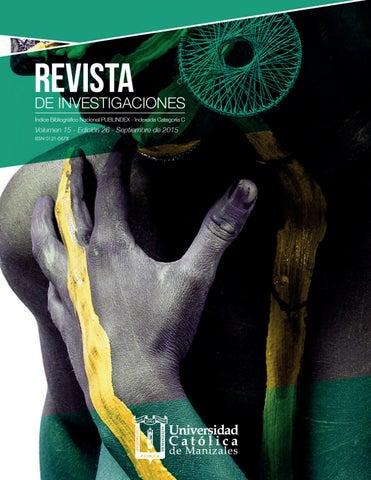 Revista de Investigaciones - Edición 26 by Centro Editorial UCM - issuu