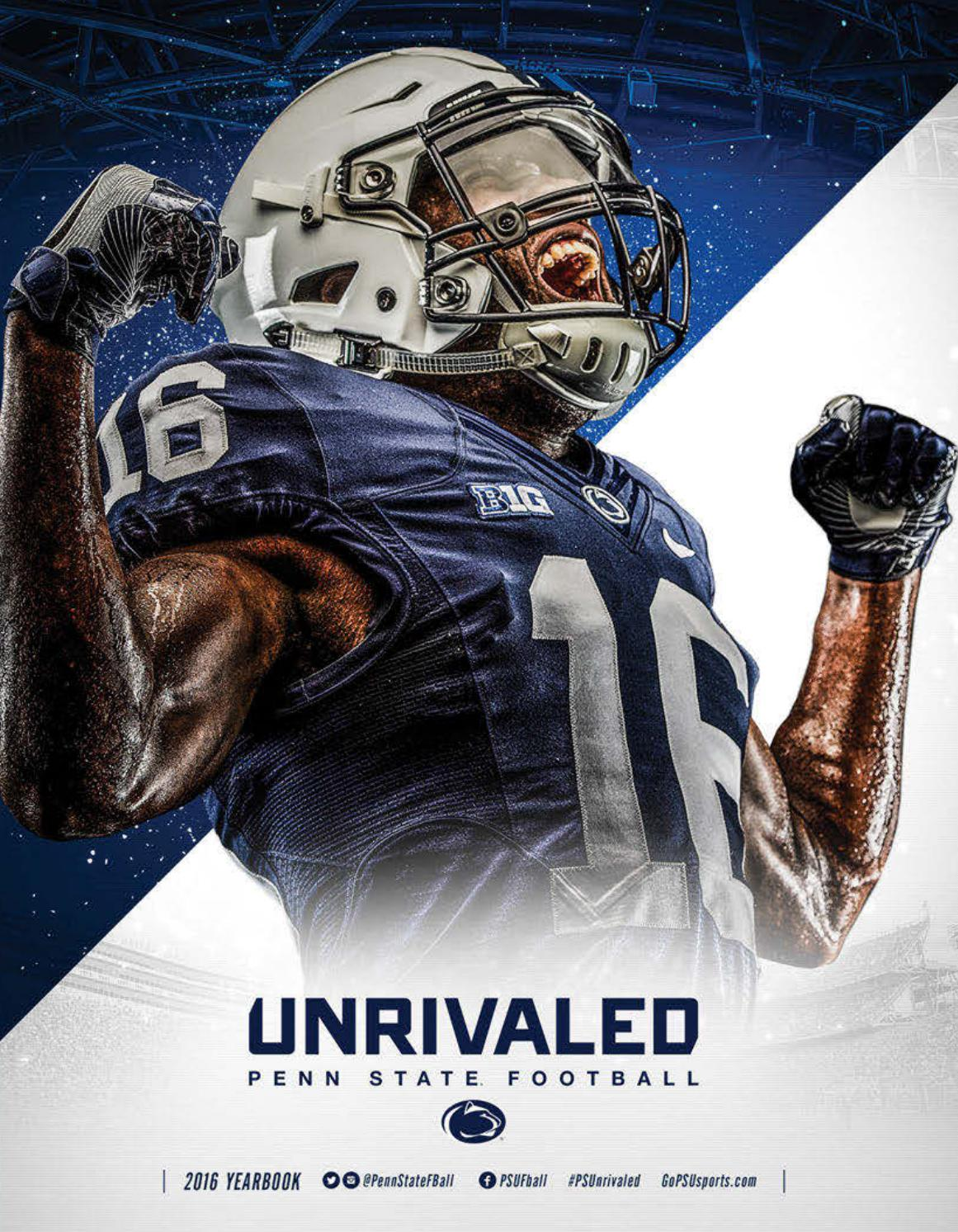 7788128e 2016 Penn State Football Yearbook by Penn State Athletics - issuu