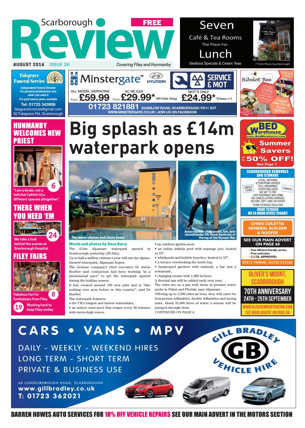 Scarborough Review August 2016 by Your Local Link Ltd - issuu 4d3276bc3fab