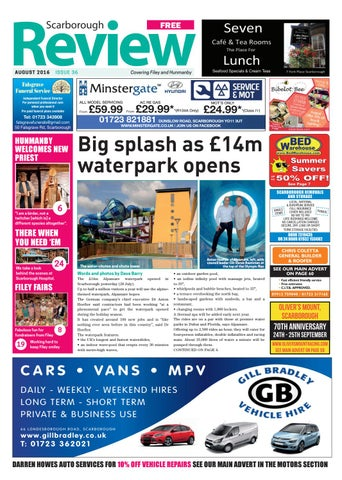 Scarborough Review August 2016 By Your Local Link Ltd Issuu