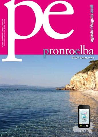 Pronto Elba Agosto 2016 By Edimediafi Issuu
