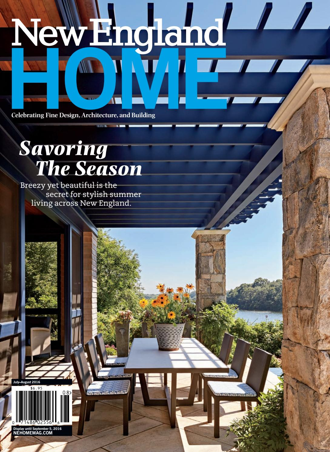 new england home july august 2016 by new england home magazine